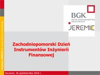 BGK Produkty finansowe
